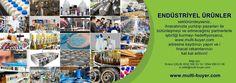 ENDÜSTRİYEL ÜRÜNLER sektöründeyseniz... ENDÜSTRİYEL ÜRÜNLER sektöründeyseniz, ihracatınızla yurtdışı pazarları ile bütünleşmeyi ve edineceğiniz partnerlerle işbirliği kurmayı hedefliyorsanız,  www.multi-buyer.com adresine kaydınızı yapın ve ihracat rakamlarınızı kat kat arttırın! A - Z 'ye tüm sektörlerin YERİNDE TİCARET yapmaları için dış ticaret alanın da getirdiğimiz yenilikleri ve hangi imkanları değerlendirebileceğinizi videomuz da izleyebilirsiniz. https://lnkd.in/dj-7SVG