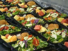 Boxed lunch combos to go by Saint Germain Catering, via Flickr