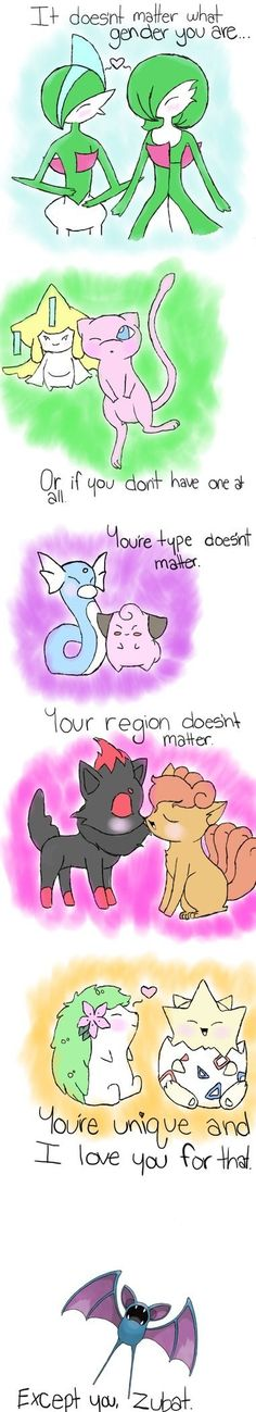 #Pokemon love...except you... via Reddit user Aedora125