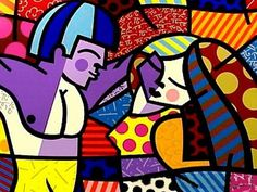 Romero Britto ...first love