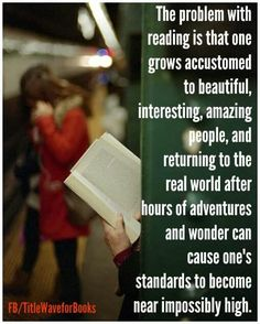 the problem with reading ...