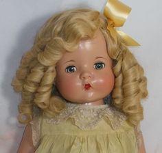 PATSY MAE Effanbee composition & cloth 1930's era doll Madame Alexander, Antique Dolls, Vintage Dolls, Child Doll, Baby Dolls, Strange Family, Nicole Dollanganger, Effanbee Dolls, Marionette Puppet