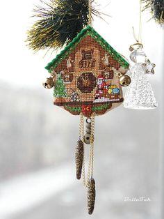 Готовим сани круглый год!: Часы с кукушкой