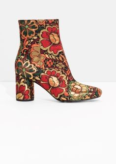 & Other Stories | Bloom Jacquard Boots