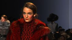 Rosy. The Look of Michael Kors Fall 2012