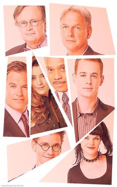 The line-up of NCIS, NCIS LA and NCIS New Orleans
