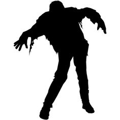 Zombie Die Cut Vinyl Decal PV688