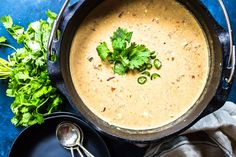 This Keto Queso Chicken Soup is a great recipe that has just 5 ingredients! We give options on how to make it in a slow cooker, Instant Pot, or Dutch oven. Keto Chicken Soup, Chicken Tortellini Soup, Chicken Tortilla Soup, Keto Soup, Chicken Soup Recipes, Creamy Chicken, Chicken Salad, Poulet Keto, Instant Pot