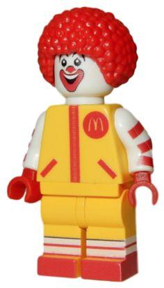 Custom & LEGO Toy Interlocking Building Set Figures & Figure Parts Toys & Hobbies Lego Hulk, Mcdonalds Fast Food, Lego Custom Minifigures, Mcdonald's Restaurant, Lego People, Send In The Clowns, Lego Creator, Holly Hobbie, Kewpie