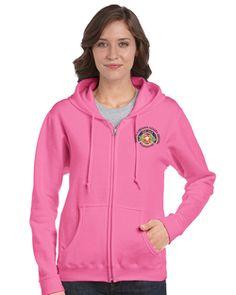 Gildan Ladies' Heavy Blend Full Zip Sweatshirt