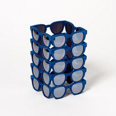 Panopticon Blue / 3Dprinted design objet #3dprinted #design #sculpture #art #objet Sculpture Art, Cube, Creative, Design