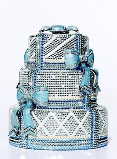 An editorial on Judith Leiber handbags, purses and your favorite accessories. Get prices and shopping advice on Judith Leiber designer bags and purses. Beautiful Cakes, Amazing Cakes, Pretty Cakes, Beautiful Things, Judith Leiber, Crazy Cakes, Fancy Cakes, Glitter Make Up, Glitter Cake