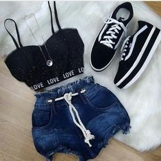 trendy outfits for 40 year olds Girls Fashion Clothes, Teen Fashion Outfits, Swag Outfits, Cute Fashion, Outfits For Teens, Teen Clothing, Fashion Fashion, Trendy Fashion, Fashion Trends