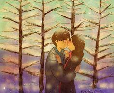 """""""Algún día compartiremos un momento así entre pinos llenos de nieve."""""""