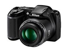 Nikon COOLPIX L340 Digital Camera (Black) [Import Model]  http://www.lookatcamera.com/nikon-coolpix-l340-digital-camera-black-import-model-2/