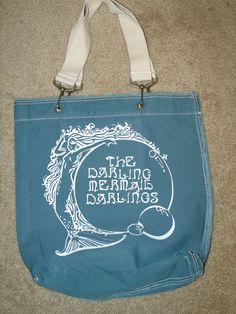 Pushing Daisies Darling Mermaid Darlings Tote Bag. $25.00, via Etsy.