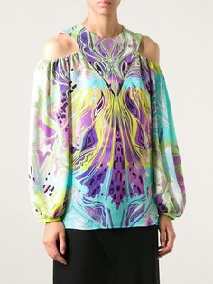 Emilio Pucci Cold Shoulder Top - Julian Fashion - Farfetch.com