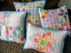 A selection of YoYo pillows.