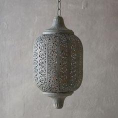 Garden Lace Oval Lantern