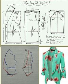 Sensational Tips Sewing Pattern Ideas. Brilliantly Tips Sewing Pattern Ideas. Coat Patterns, Dress Sewing Patterns, Clothing Patterns, Sewing Ideas, Sewing Projects, Crochet Patterns, Blazer Pattern, Jacket Pattern, Collar Pattern