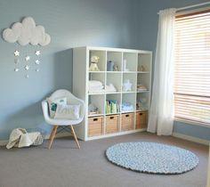 Como organizar una habitación para bebes