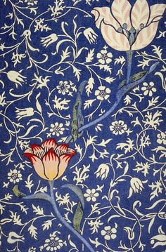 William Morris Medway wallpaper. A Must Have Designer - if you are to do this style justice! William Morris