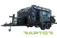 Bilderesultat for royal flair raptor Off Road Camper Trailer, Trailer Build, Camper Caravan, Car Trailer, Utility Trailer, Camper Trailers, Off Road Camping, Truck Camping, Camping Survival