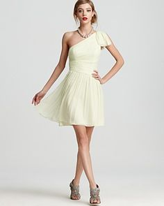 Jill Stuart Dresses Bloomingdales Jill Stuart Dress One shoulder