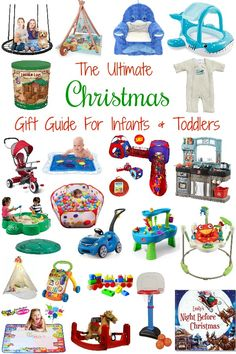 Christmas Gift Guide The Ultimate Christmas Gift Guide For Toddler & Infants. These will surely be a WOW factor so no wasting your money on gifts that are played with once and forgotten about. The post Christmas Gift Guide appeared first on Toddlers Diy. Christmas Presents For Babies, Baby's First Christmas Gifts, Toddler Christmas Gifts, Christmas Gift Guide, Babies First Christmas, Toddler Gifts, Christmas Baby, Christmas Time, Holiday Gifts