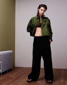 """Olivia David in """"Gender Game"""" photographed by Naomi Yang and styled by Verity Parker for Vogue Taiwan, February 2015"""