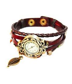 Modern Retro Horloge Armband Bruin http://www.ovstore.nl/nl/huismerk-modern-retro-horloge-armband-bruin.html