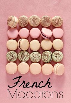 Delicious French Macarons from Martha Stewart