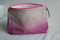 Schminktasche Dip and Dye von ars textura auf DaWanda.com