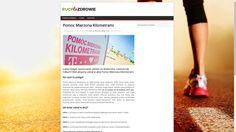 Strona z artykułami na różne sportowe tematy http://www.ruch-to-zdrowie.pl/