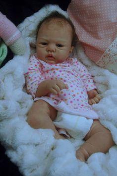 Mummelbaerchens Angelina, so cute Reborn Baby Girl, sculpt by Sandy Faber