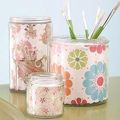 Paper-Lined Jars