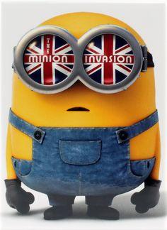 The Minion Invasion Magnet