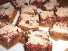 Alföldi receptek: Csokis-meggyes piskóta Food, Essen, Meals, Yemek, Eten