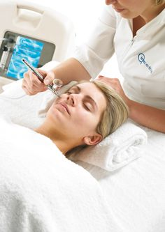 The best treatment EVER! If you never experienced one, make your appointment. Your skin will be radiant and glowing...Oxygen Facial by Intraceuticals #Holly's treatments