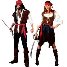 Pirate Couple Halloween Costumes, Group Halloween Costumes, Couples  Halloween Costumes and Family Halloween Costumes