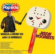 Jason Popsicle Tasty Horror Movie Popsicles!