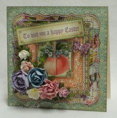 Aspiring to Creativity: Easter Card 1 - Sweet Sentiments
