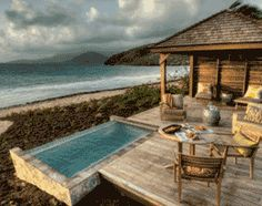 Resort living at Christophe Harbour Caribbean Beach Resort, Beach Resorts, Turtle Beach, Beach Bungalows, Resort Style, Beach Cottages, St Kitts, Spaces, Outdoor Decor