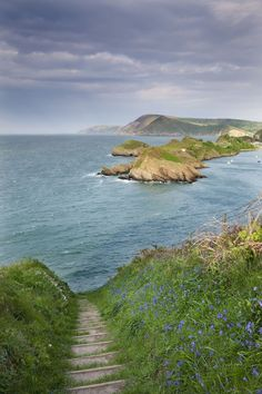 Watermouth Cove, Devon, England...some day, I will reside by the British seaside