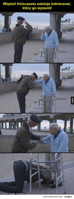 Funny lol -- Holocaust survivor salutes US soldier who liberated him from concentration camp Daily Funny jokes Sweet Stories, Cute Stories, Soldado Universal, Rasengan Vs Chidori, Wow Photo, Human Kindness, Touching Stories, Holocaust Survivors, Gives Me Hope