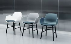 Our beautiful Form Armchairs Armchairs, Copenhagen, Showroom, Bar Stools, Upholstery, Table, Furniture, Beautiful, Design