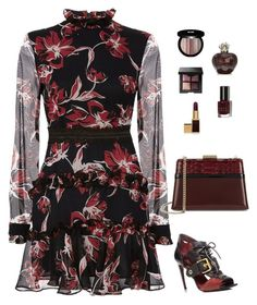 """""""Untitled #914"""" by stacy-hardy on Polyvore featuring Nicholas, Burberry, Lanvin, Edward Bess, Christian Dior, Bobbi Brown Cosmetics and Tom Ford"""