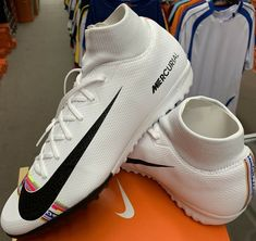 bc24e201a Advertisement(eBay) Nike Mercurial CR7 Superfly 6 Academy TF Soccer Shoes  Turf Adult Size