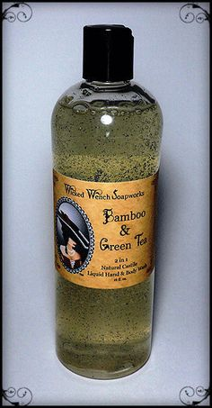 Bamboo & Green Tea Castile Liquid Soap