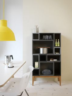 love this modular storage system. they come in a ton of colors and shapes